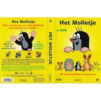 Dvd: Het Molletje ( 4 dvd, 26 verrukkelijke verhalen)