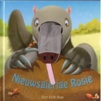 Rose, Eilidh: Nieuwsgierige Rosie ( kartonboek met vingerpopje)
