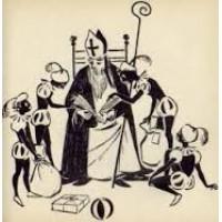 Bouhuys, Mies met ill. van Nellie Aarbodem: Stippe Stappe  ( Sinterklaas)