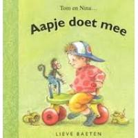 Baeten, Lieve: Tom en Nina, aapje doet mee ( karton)