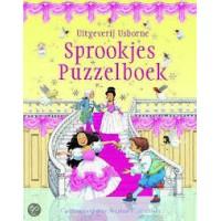 Cartwright, Stephen: Sprookjes puzzelboek van Usborne ( 6 sprookjes van 15 stukjes)
