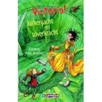 Andel, Emma van: Victoria, jurkenjacht en toverkracht ( met bladwijzer met hangertje)