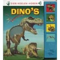 Zien-voelen-horen: Dino's (met geluid)