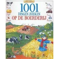 1001 dingen zoeken op de boerderij (hardcover zoekboek)