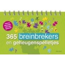 365 breinbrekers en geheugenspelletjes ( train je hersens elke dag opnieuw!)
