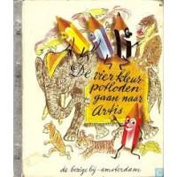 Gouden boekjes van de Bezige Bij: De vier kleurpotloden gaan naar Artis ( 66)