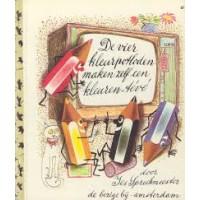 Gouden boekjes van de Bezige Bij: De vier kleurpotloden maken zelf een kleuren-teve  (67)