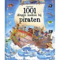 1001 dingen zoeken bij piraten (hardcover zoekboek)