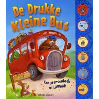 Lovsin, Polona:  De drukke kleine bus, prentenboek vol lawaai