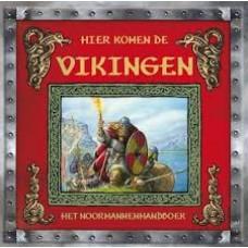 Berk, Ari: Hier komen de Vikingen, het Noormannenhandboek een verslag van Adri de geleerde (flapjes etc)