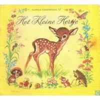 Nutricia kinderboekje oude serie: Het kleine hertje ( deeltje 12)