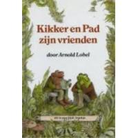 Blok-boekje door Arnold Lobel: Kikker en pad zijn vrienden (glimmende voorkant)