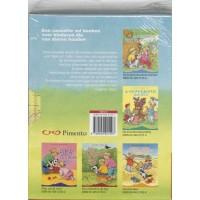 Slee, Carry en Dagmar Stam: Kwispelstaartje, dieren cassette ( 5 boekjes in verzamelcassette)