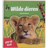 Ferguson, Richard: Wilde dieren pop-up boek met uitschuifbare informatiekaarten