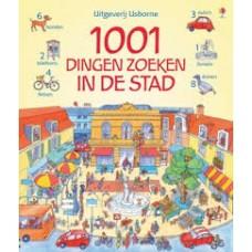 1001 dingen zoeken in de stad (hardcover zoekboek)
