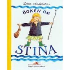 Anderson, Lena: Boken om Stina ( zweeds)