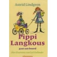 Lindgren, Astrid en Carl Hollander: Pippi Langkous gaat aan boord