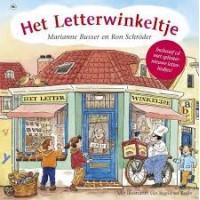 Busser, Marianne en Ron Schroder met ill. van Ingrid ter Koele: Het letterwinkeltje (met cd)