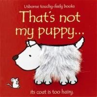 Watt, Fiona en Rachel Wells: Voelboek, That's not my puppy ( Usborne touchy-feely-books)
