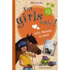 Aar, Hetty van: For girls only 5 sos manege in nood