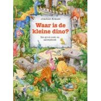 Krause, Joachim: Waar is de kleine dino, een groot zoek- en aanwijsboek (karton)