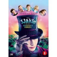 Dvd: Sjakie en de chocoladefabriek naar het boek van Roald Dahl