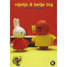 Dvd: Nijntje & Betje Big en andere vriendjes  naar Dick Bruna (dvd met 15 verhaaltjes)