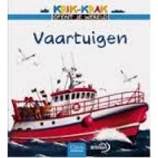 Krik-Krak opent je wereld: Vaartuigen ( met uitvouwblz.)