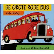 Hindley, Judy met ill. van William Benedict: De grote rode bus ( uitvouwblz)