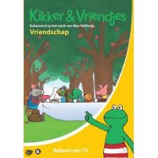 Velthuijs, Max: Kikker & Vriendjes, vriendschap dvd met 6 verhalen (nieuw in folie)