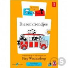 Dvd: De avonturen van PIm en Pom (3) , dierenvriendjes (dvd met 10 verhaaltjes nieuw in folie) gebaseerd op tekeningen van Fiep Westendorp