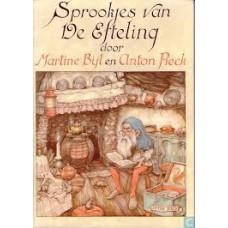 Bijl, Martine met ill. van Anton Pieck: Sprookjes van De Efteling