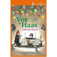 Heede, Sylvia vanden met ill. van The Tjong-Khing: Vos en Haas vieren feest (ik lees al haas: avi E3-M4)