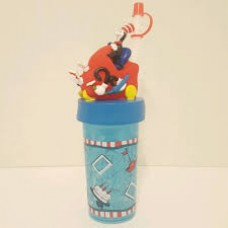 Dr. Seuss: The cat in the hat straw sippy cup