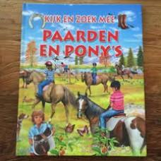 Kijk en zoek mee: Paarden en pony's