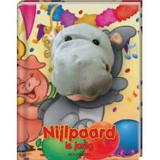 Handpopboek: Nijlpaard is jarigl door Rikky Schrever