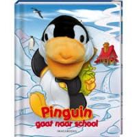 Handpopboek: Pinquin gaat naar school door Rikky Schrever