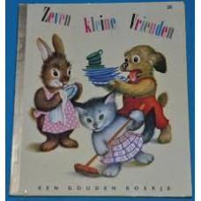 Gouden boekjes van de Bezige Bij: Zeven kleine vrienden (20)