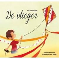 Almekinders, Ilse met ill. van Maaike van den Akker: De vlieger ( een prentenboek over pesten)