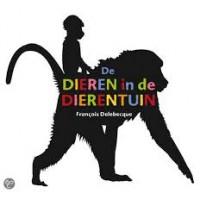 Delebecque, Francois: De dieren in de dierentuin (interactief boek met flapjes)