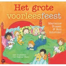 Busser, Marianne en Ron Schroder met ill. van Dagmar Stam: Het grote voorleesfeest