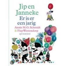 Schmidt, Annie MG en Fiep Westendorp: Jip en Janneke, er is er een jarig ( hardcover)