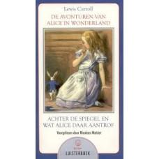 Luisterboek 7cd: De avonturen van Alice in Wonderland, achter de spiegel en wat Alice daar aantrof van Lewiss Carroll voorgelezen door  Nicolaas Matsier (nieuw in folie)