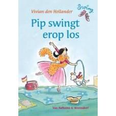 Hollander, Vivian den met ill. van Saskia Halfmouw: Swing, Pip swingt erop los