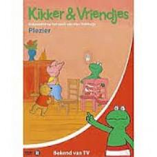 Velthuijs, Max: Kikker & Vriendjes, plezier dvd met 7 verhaaltjes (nieuw in folie)
