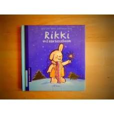 Genechten, Guido van: Rikki wil een kerstboom  (mini uitgave allemaal beestjes prentenboekenreeks)