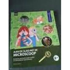 Zeitoun, Charline: Aan de slag met de microscoop! boeiende info, leuke weetjes en verbluffende experimenten! ( Hema en Natuurmonumenten)
