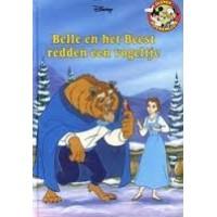 Disney Boekenclub: Belle en het Beest redden een vogeltje (met cd)