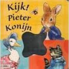 Potter, Beatrix: Kijk ! Pieter Konijn ( karton met flappen)