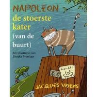 Vriens, Jacques met ill. van Doesjka Bramlage: Napoleon de stoerste kater ( van de buurt)